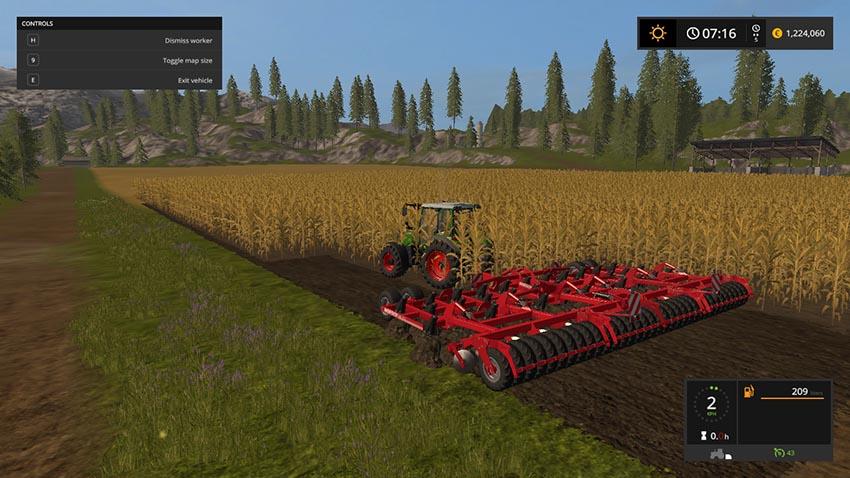 Horsch Tiger 10 LT Plough & Cultivator V 1.1