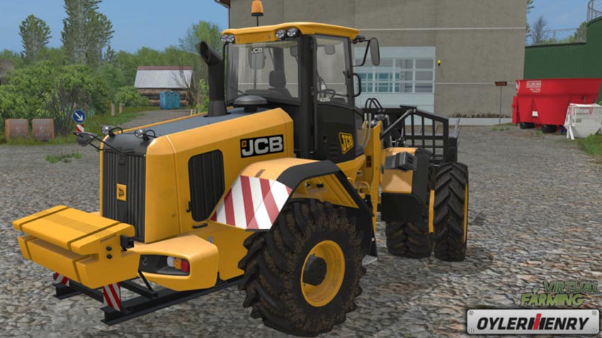 JCB 435S back weight V 1.0