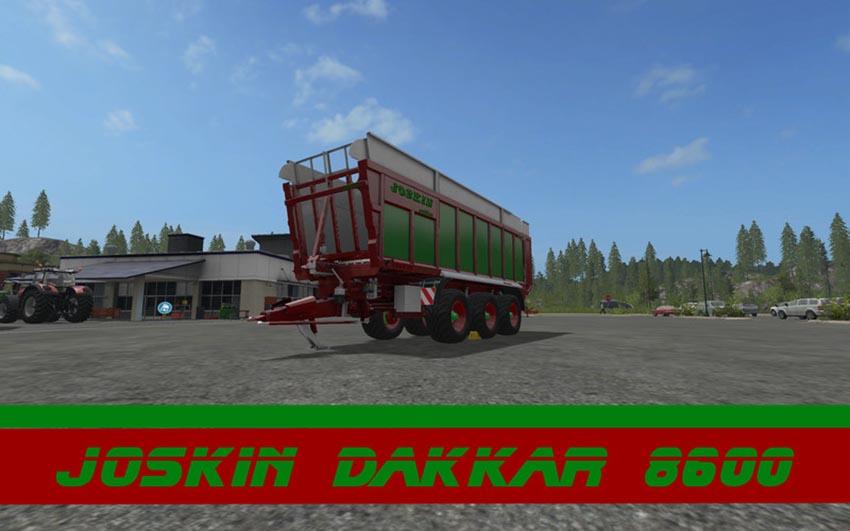 Joskin Dakkar red-green edition V 1.0