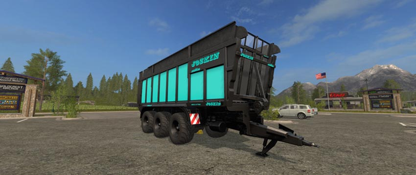 Joskin Drakkar 8600 Blue Black Edition V 1.0
