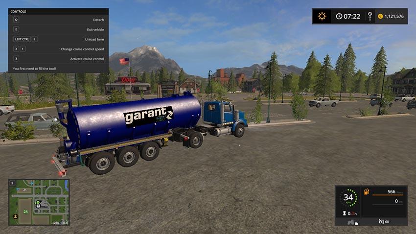 Kotte Garant Pro Venti trailer for pig feed V 1.1