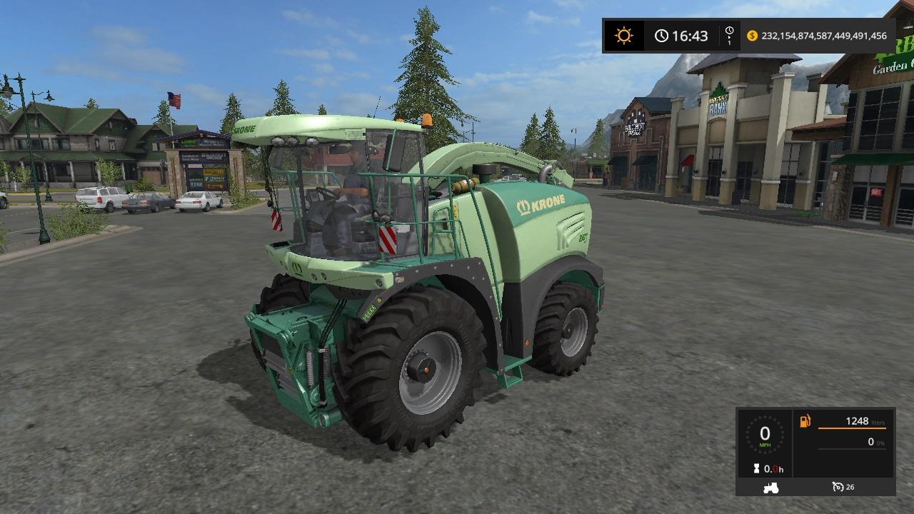 Krone Big X 480 and fortuna FTM200 6 0 v 1.2