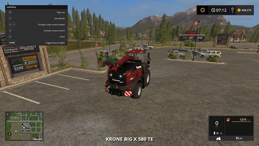 Krone Big X 580 Tuning Edition V 1.0.0.1