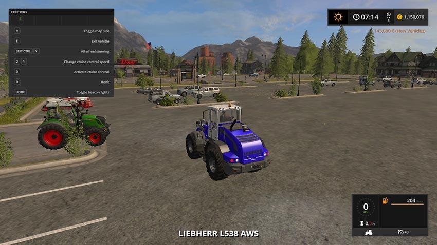 Liebherr L538 AWS V 1.0