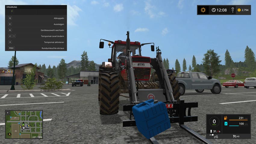 Liquid Fertilizer tank for handwork V 1.0