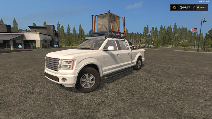 Lizard Pickup TT Ford logo F150 sort v 1.1