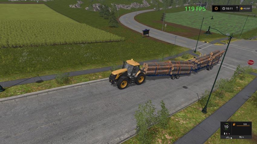 Log Trailer Customizable v 1.3