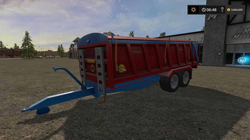 Marshall trailer modded v 1.0