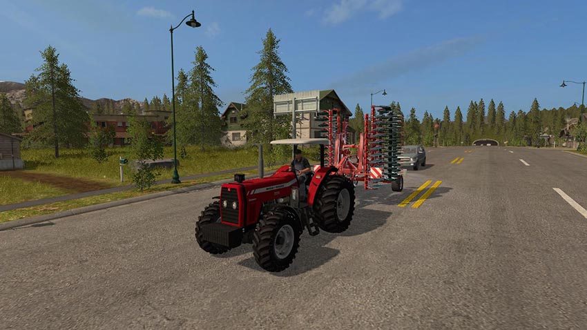 Massey Ferguson 299 Advanced v 1.0