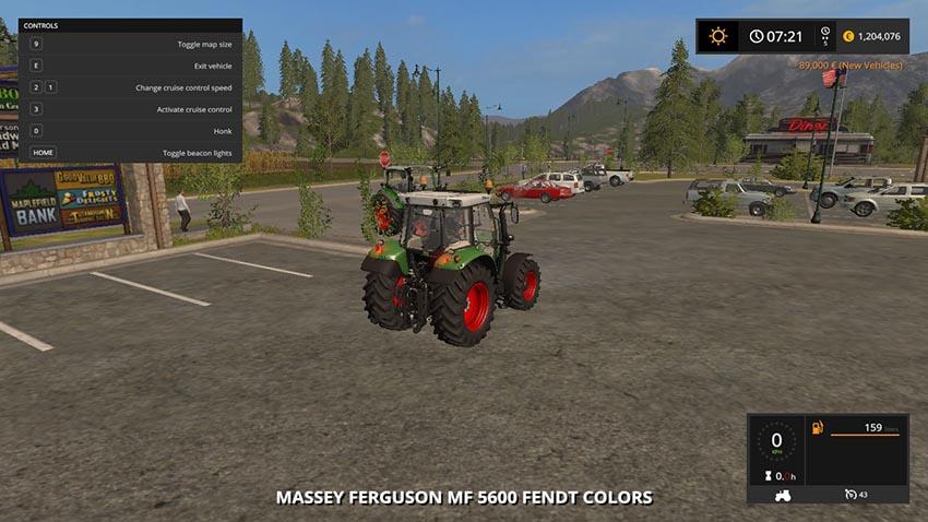 Massey Ferguson 5600 Fendt Colors V 1.0