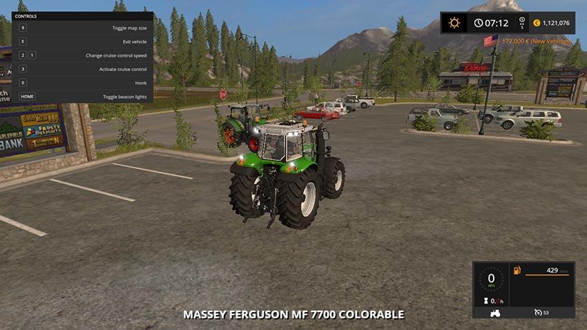Massey Ferguson 7700 Collorable V 1.0