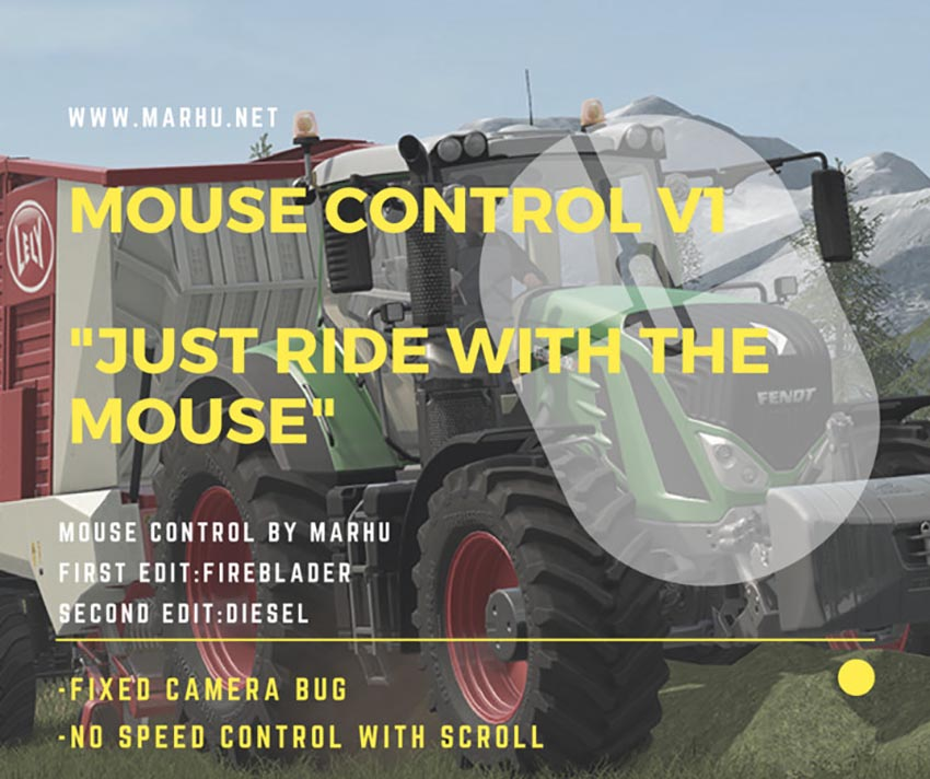Mouse Control V 1.0