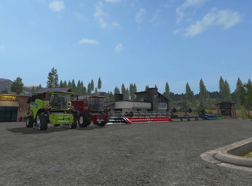 New Holland Harvester Dyeable V Beta 0.9