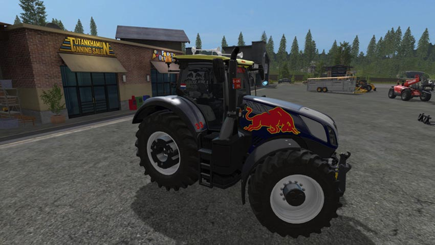 New Holland T7 Red Rikie V 1.0