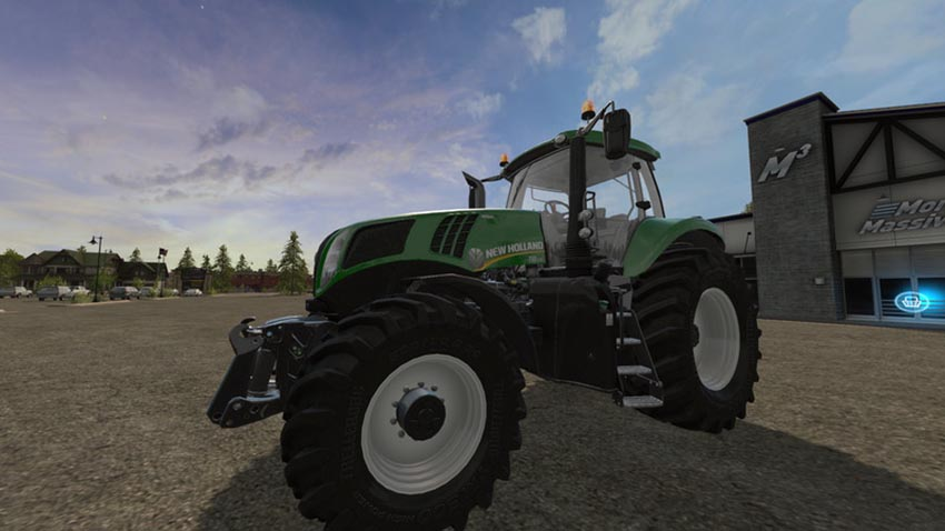 New Holland T8 Green Edition V 1.0