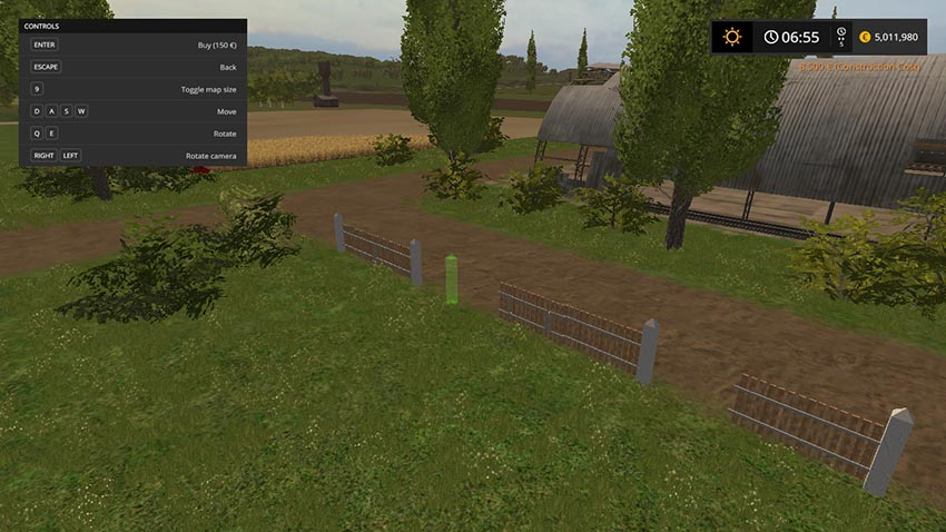 Placeable Fence Set V 1.0