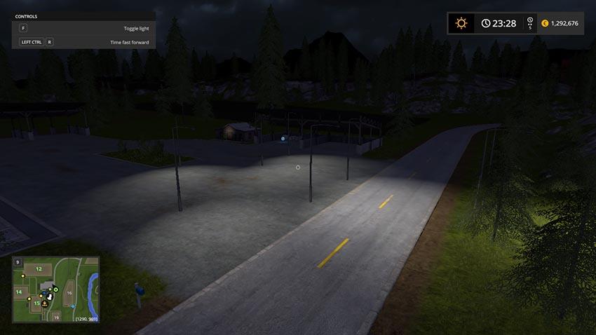 Placeable Floodlight v 1.0