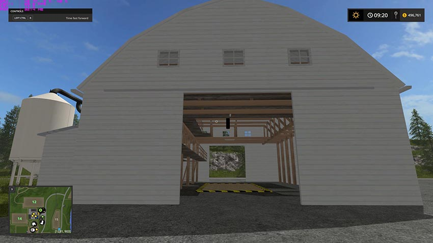 Placeable Storage Barn