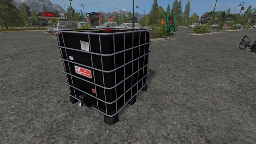 Refillable water tank V 1.0