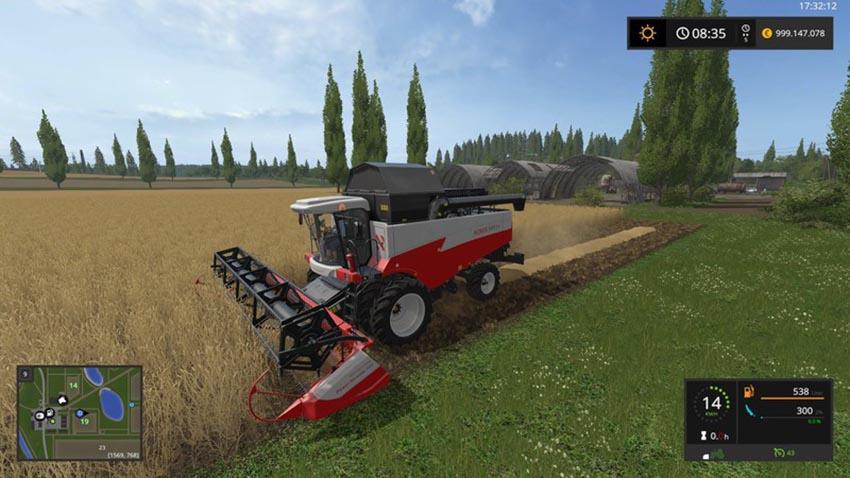 Rostselmash Acros 595 with options V 1.0