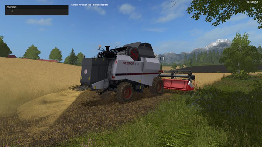 Rostselmash Vector 410 V 1.0