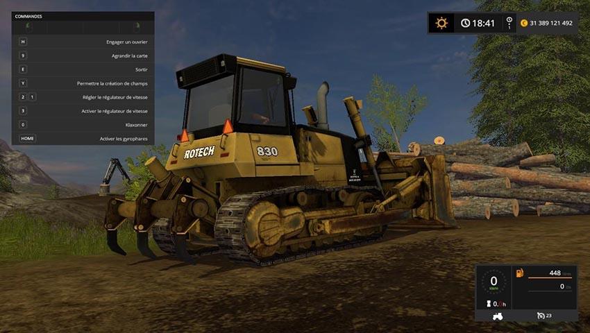 Rotech 830 Bulldozer V 0.9