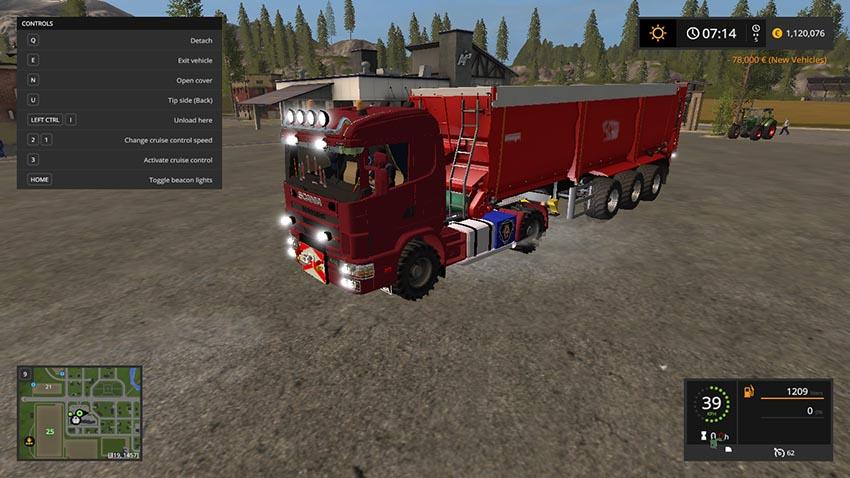 Scania 144L Agrar V 1.0