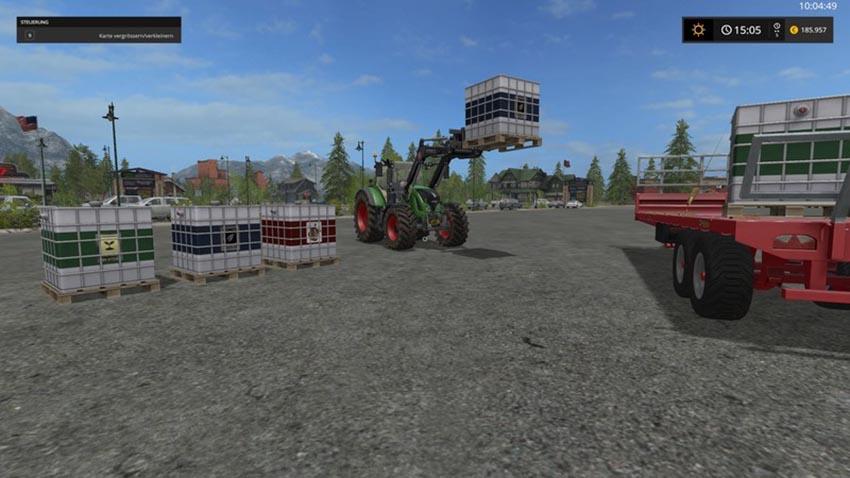 Seed fertilizer pig feed XL V 1.0