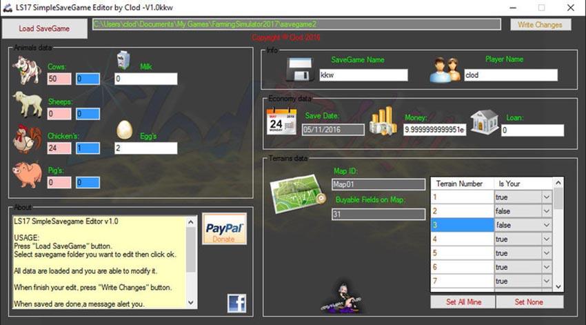 Simple Save Game Editor V 1.0