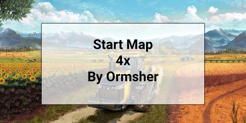 Start Map 4x with Extra Foliage Layers V 1.0