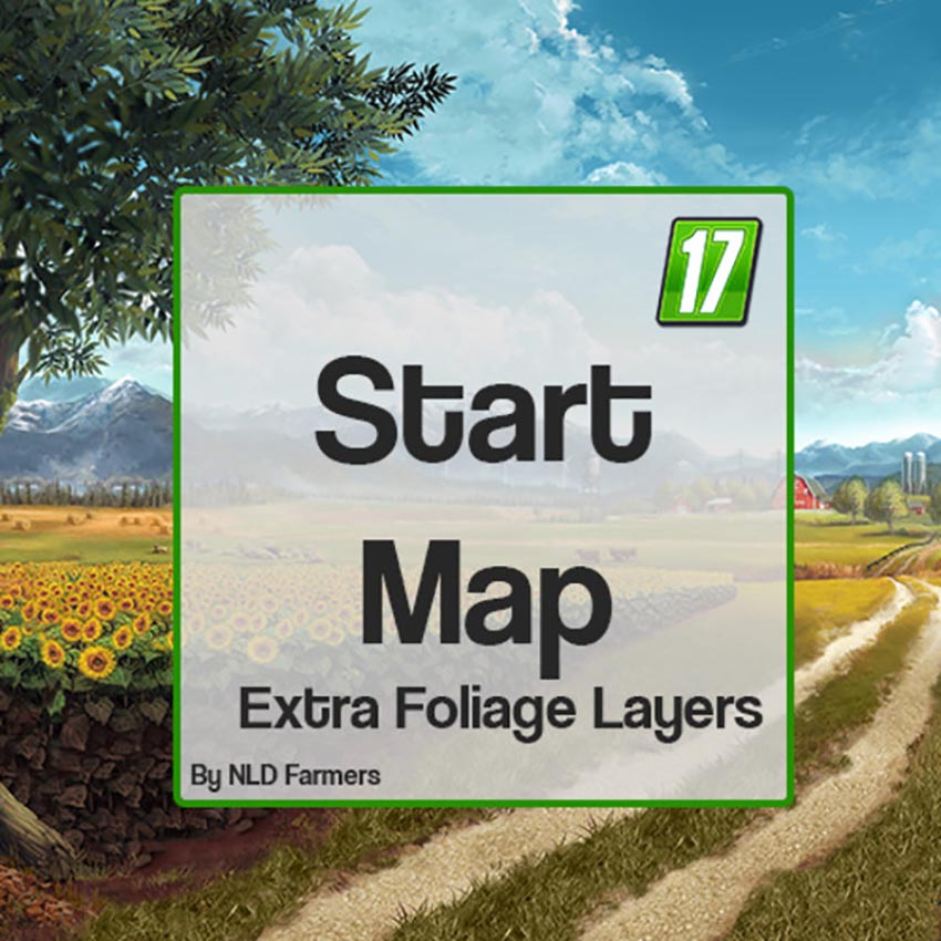 Start Map with Extra foliage layers V 1.0