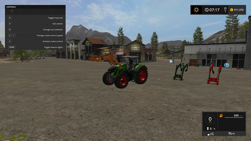 Stoll FZ 60 for Fendt Vario 900 Series V 1.1