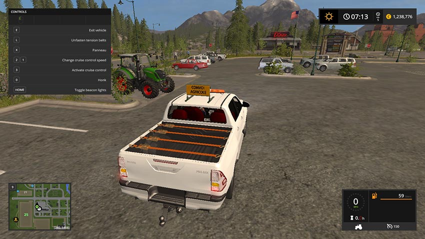 TOYOTA HILUX CONVOI AGRICOLE v 1.0