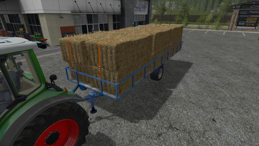 Transport trailer bales pallets and wood V 0.5 Beta