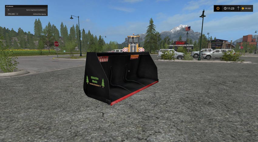 Universal Leichtgutschaufel Wheel loaders Telelader v 1.0