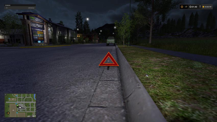 Warning triangle Hazzard V 1.0