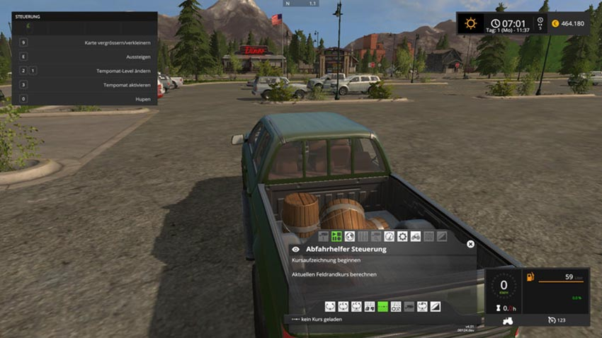 Manure bucket for Handwork filled V 1.2