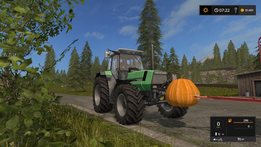 Pumpkin weight V 1.0