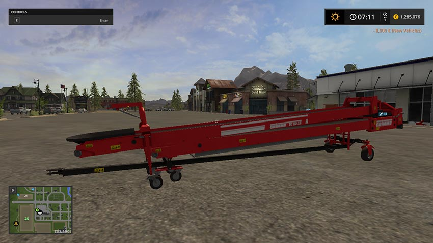 Grimme TC-8016 belt with faster Overloaded V 1.1