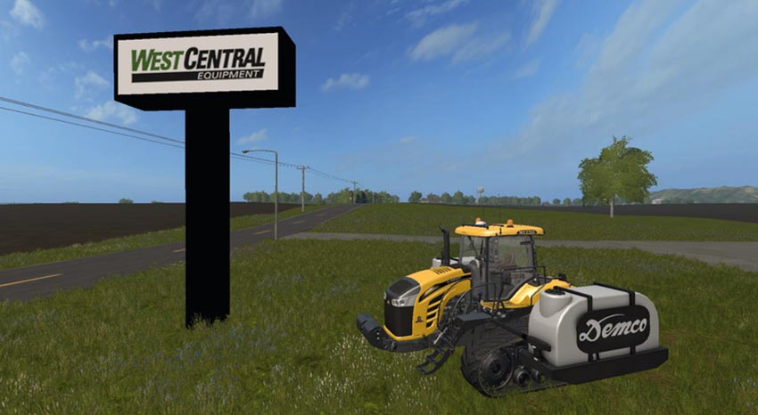 Challenger MT700E with demco tanks V 1.0