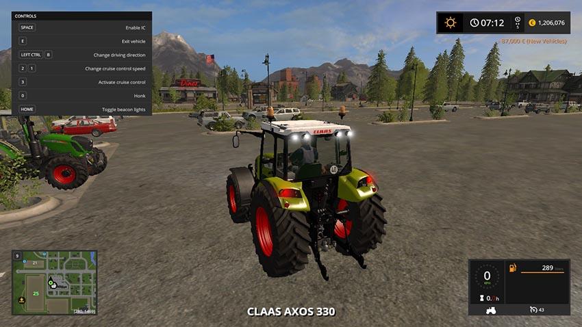 Claas Axos 330 V 1.0