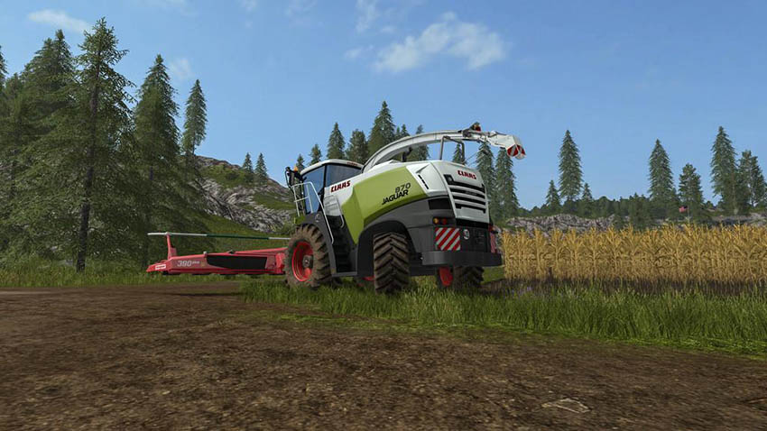 Claas Jaguar 800 with Orbis 750 v 1.0