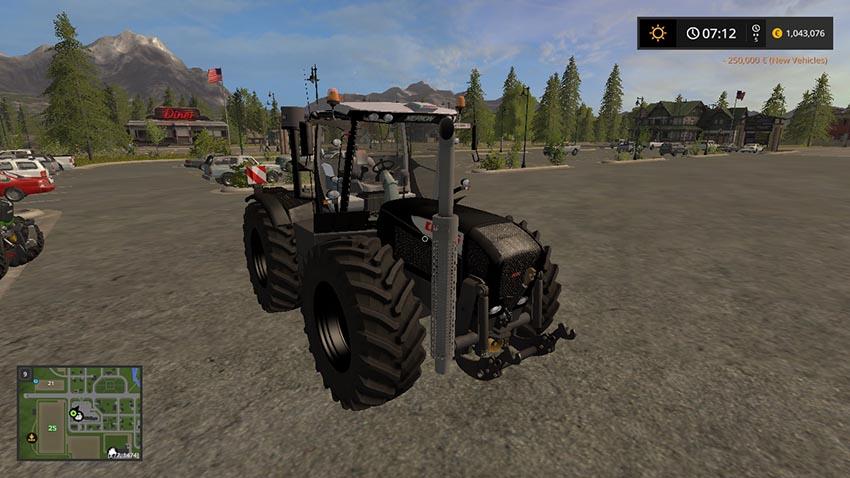 Claas xerion 3800 VC Black v 1.0