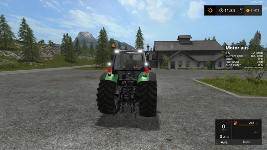 Deutz Fahr Series 6 V Beta 2