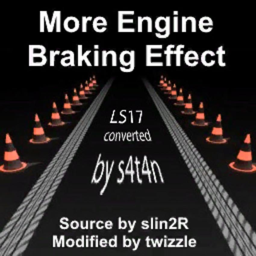 Engine brake effect V 2.0