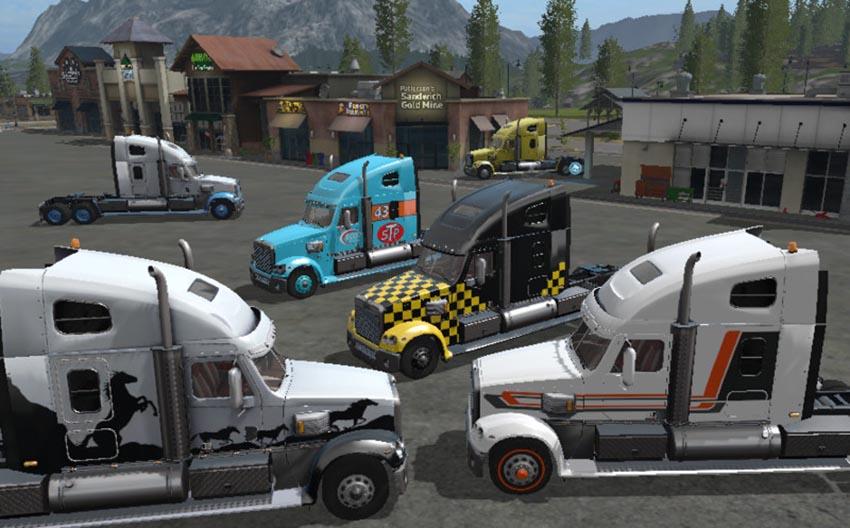 Freightliner coronado v 1.3