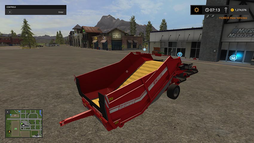 Grimme RH2460 fertilizer and seed V 1.0