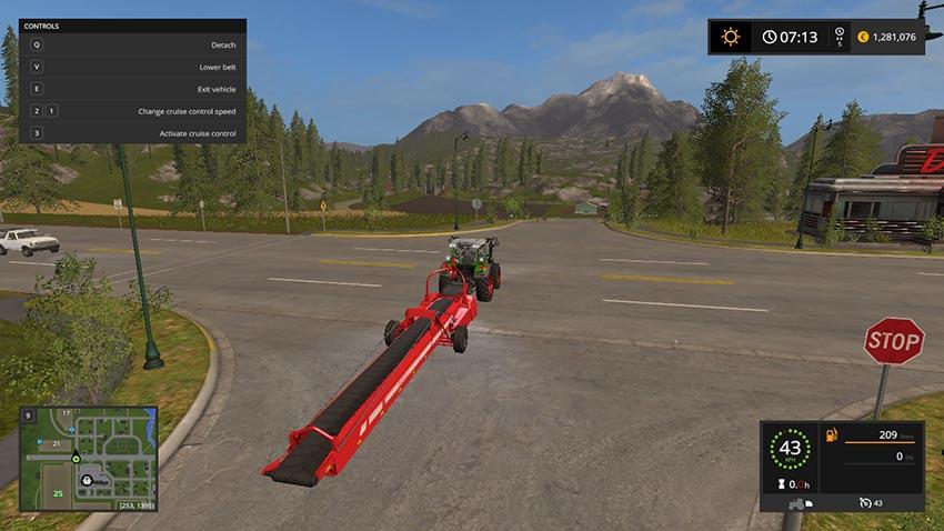 Grimme SL-8022 belt with faster Overloaded V 1.1