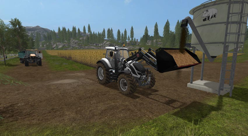 Light materials for front loader V 1.0