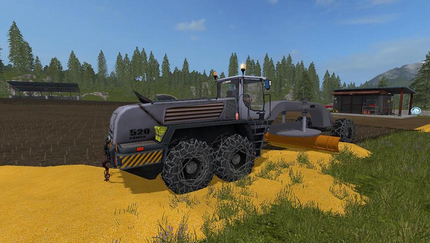 Lizard G520 Loader Grader Pack v 1.0